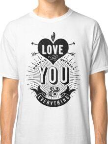 Love Is The Bridge Classic T-Shirt