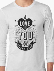 Love Is The Bridge Long Sleeve T-Shirt