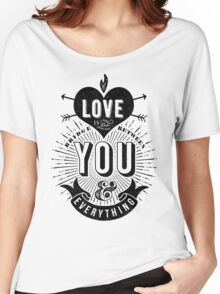 Love Is The Bridge Women's Relaxed Fit T-Shirt
