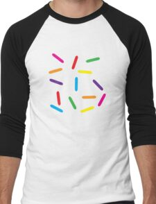 Sprinkles Men's Baseball ¾ T-Shirt