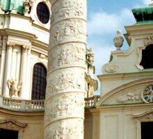Karlskirche, Vienna, Austria (2) Sticker