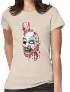 Captain Zombie Womens Fitted T-Shirt