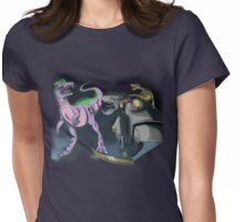Jurassic World but with Dinobots vers. 1 Womens Fitted T-Shirt
