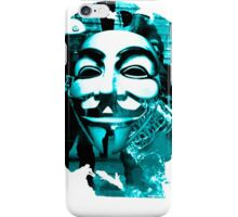 Anonymous Che Guevarra Blue iPhone Case/Skin