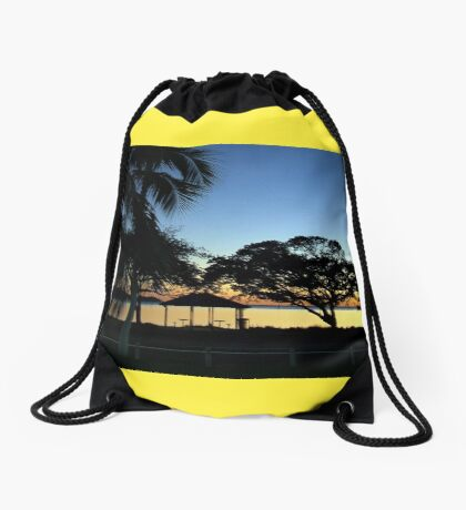 NEW DAWN - NEW BEGINNING Drawstring Bag