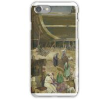 George Wesley Bellows  SHIPYARD SOCIETY iPhone Case/Skin