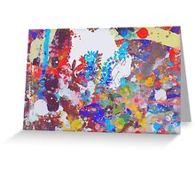 Wind through the trees Greeting Card