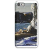 George Wesley Bellows  THE PALISADES iPhone Case/Skin