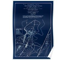 Civil War Maps 1863 Topographical sketch of the New Market Va battlefield of May 15 1864 Inverted Poster