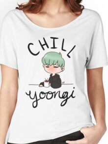 Chill Min Yoongi Women's Relaxed Fit T-Shirt