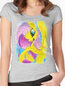 Flutterbat Women's Fitted Scoop T-Shirt