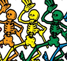 Grateful Dead Dancing Skeleton  Sticker