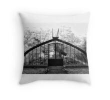 Greenhouse - Botanical Gardens - Buenos Aires Throw Pillow