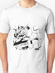 Gundam Barbatos Black and White Unisex T-Shirt