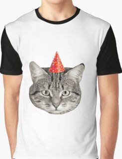 Birthday Cat! Graphic T-Shirt