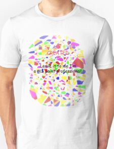 Elementary/Primary school paint professional T-Shirt