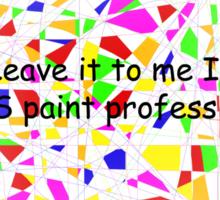 Elementary/Primary school paint professional Sticker