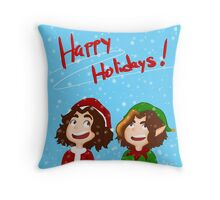 Christmas Grumps Throw Pillow