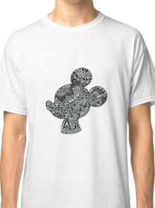 Mouse Zentangle Classic T-Shirt