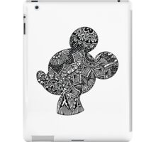 Mouse Zentangle iPad Case/Skin