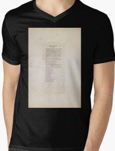 Civil War Maps 1159 Military maps of the United States Mens V-Neck T-Shirt