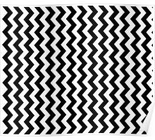Chevron Cell Phone Case - ZigZag Cushion Poster