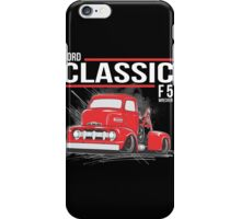 FORD CLASSIC F5 WRECKER iPhone Case/Skin