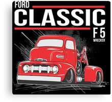 FORD CLASSIC F5 WRECKER Canvas Print