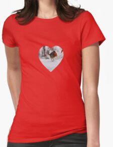 Robin Redbreast'... Womens Fitted T-Shirt