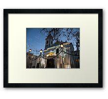 Recoleta - Buenos Aires Framed Print