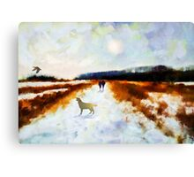 Broadland walk'... Canvas Print