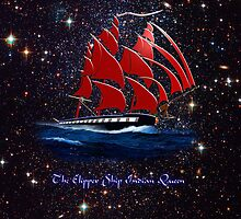 The Clipper Ship Indian Queen iPad/iPhone/iPod/Samsung cases by Dennis Melling