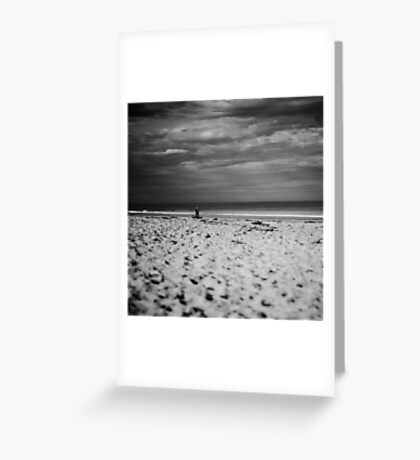 Sand and sky Greeting Card