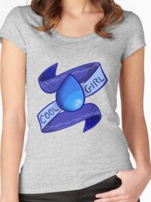 Lapis Lazuli: Cool Girl Women's Fitted Scoop T-Shirt