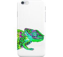 Psychedelic chameleons iPhone Case/Skin