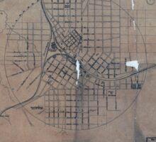 Civil War Maps 0063 Atlanta Sticker