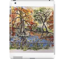 The Orto Botanico from the Lucca wall 2015 iPad Case/Skin