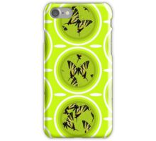 Iphiclides podalirius circles iPhone Case/Skin