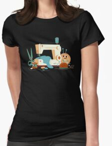 SEWING MACHINE Womens Fitted T-Shirt