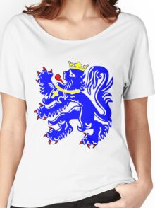 Bruges Lion Women's Relaxed Fit T-Shirt