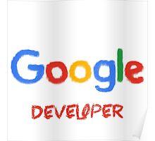 Crayon Google Developer Poster