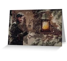 OUAT Holidays 2015 - Captain Hook Greeting Card