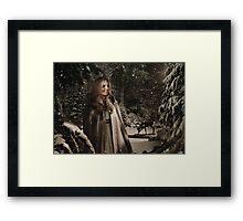 OUAT Holidays 2015 - Emma Swan Framed Print