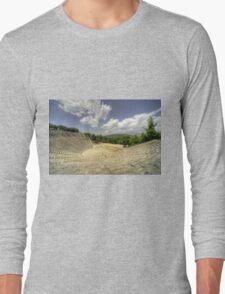 Epidavros Amphitheatre Long Sleeve T-Shirt