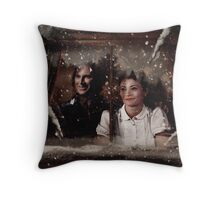 OUAT Holidays 2015 - Rumbelle Throw Pillow