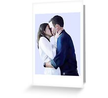 FitzSimmons Kiss Greeting Card