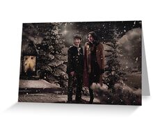 OUAT Holidays 2015 - Regina and Henry Greeting Card