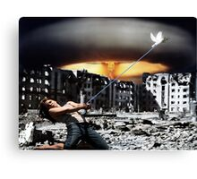 Keeping the Peace Canvas Print