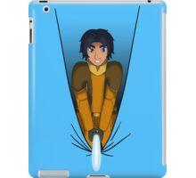 Pardon me, cutting through... iPad Case/Skin