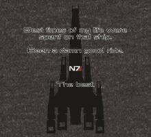 Mass Effect - Normandy SR2 by Dorchette
